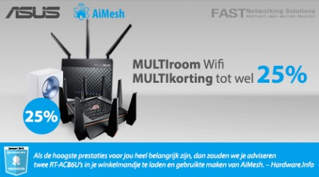 Asus AiMesh Router - Tot 25% cashback